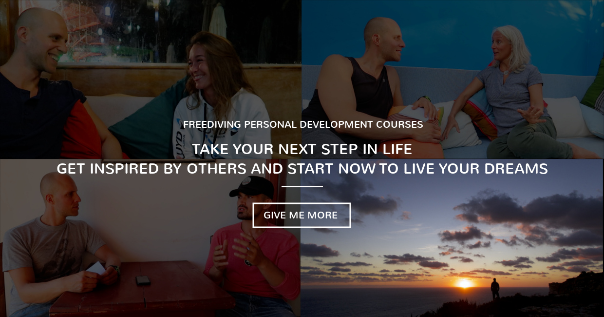 Timo Niessner Freediving Coach Coaching Life freediveyourlife Personal Development