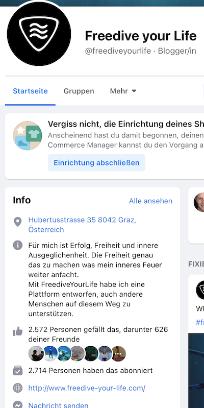 facebook freedive your life timo niessner